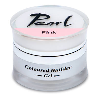 Pearl Nails Színezett építő zselé Pink 15ml