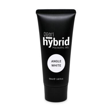 Pearl Nails hybrid PolyAcryl Gel akrilzselé - Angel White 50ml