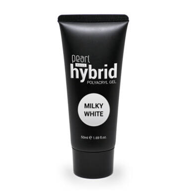 Pearl Nails hybrid PolyAcryl Gel akrilzselé - Milky White 50ml