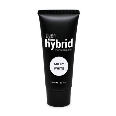 Pearl Nails hybrid PolyAcryl Gel akrilzselé - Milky White 50ml