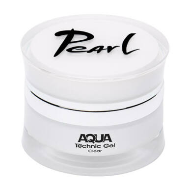 Pearl Nails AQUA Technic Gel Clear rugalmas építőzselé
