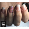 Babyboomer körmök Glitter Nude hybrid PolyAcryl akrilzselével